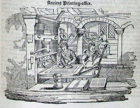 первые принтеры